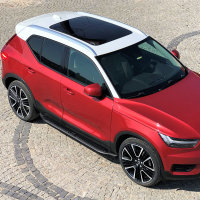 Running Boards suitable for Volvo XC40 from 2017 Ares...