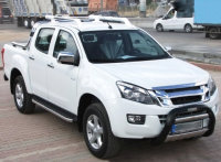 Running Boards suitable for Isuzu D-Max from 2012 Hitit...