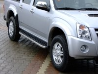 Running Boards suitable for Isuzu D-Max from 2006-2012...