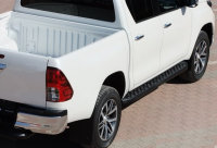 Running Boards suitable for Toyota Hilux from 2015 Hitit...