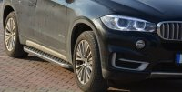 Running Boards suitable for BMW X5 2013-2018 Hitit chrome...