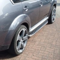 Running Boards suitable for Citroen C4 Aircross from 2012...