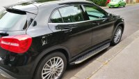 Running Boards suitable for Mercedes-Benz GLA from 2013...
