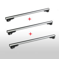 Set of 3 roof racks suitable for Renault Trafic from 2001...