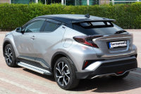 Running Boards suitable for Toyota C-HR from 2017 Olympus...