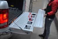 Tailgate central locking retrofit kit VW Amarok from year of construction 2010