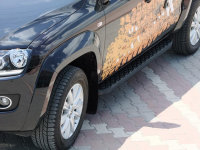 Running Boards suitable for VW Amarok from 2010 Hitit...