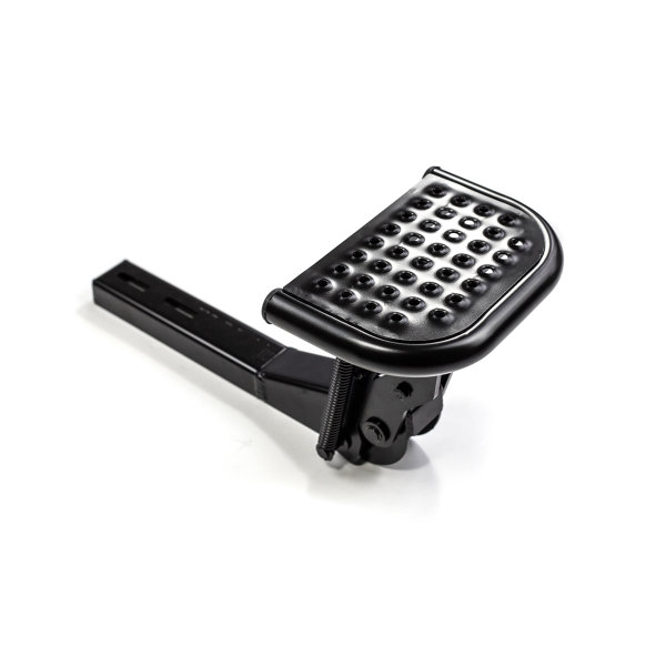Footboard for unfolding VW Amarok from year of construction 2010 Color Black