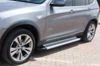 Running Boards suitable for BMW X3 from 2010-2017 Olympus...