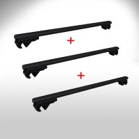 Set of 3 roof racks suitable for Volvo XC 90 from 2002...