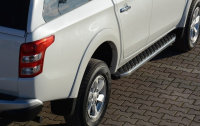 Running Boards suitable for Fiat Fullback from 2016 Hitit...