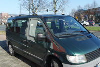Roof Rails suitable for Mercedes Vito W638 from 1996 -...