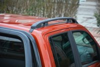 Roof Rails suitable for VW Amarok from 2010 aluminum black