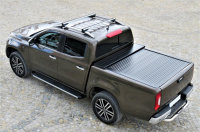 Roof racks Mercedes X-Class from year of construction 2017 made of aluminum in chrome 120cm