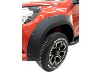 Fender flares suitable for Toyota Hilux with screw optics...