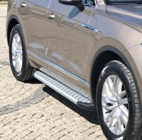Running Boards suitable for VW Touareg 2002-2018 Olympus...
