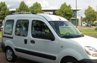 Roof Rails suitable for Renault Kangoo I from 1998 - 2007...