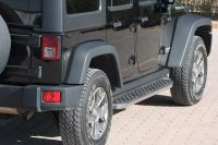 Running Boards suitable for Jeep Wrangler Unlimited 2007...