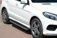 Running Boards suitable for Mercedes-Benz GLE SUV...
