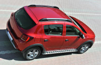 Running Boards suitable for Dacia Sandero from 2009 Punto...