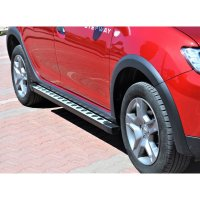 Running Boards suitable for Dacia Dokker from 2012 Punto with TÜV