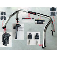 Roll bar chrome - Ford Ranger Ranger Double Cab from year of construction 2012