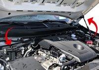 Front Hood Struts Kit for Fiat Fullback from 2015 onwards