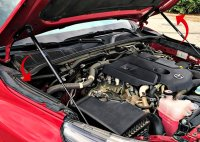 Hood Lift Supports Struts Shocks Kit for Toyota Hilux...