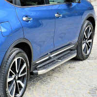 Running Boards suitable for VW T-Roc from 2017 Dakar...