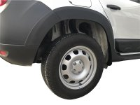 Fender flares suitable for Dacia Duster from 2010 - 2017...