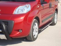 Peugeot Bipper Year of Manufacture from 2008 Aluminium Footboard Ladder Tüv /